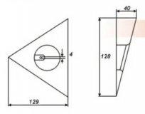 Одиночный треугольник