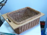 Плетёный ящик из лозы